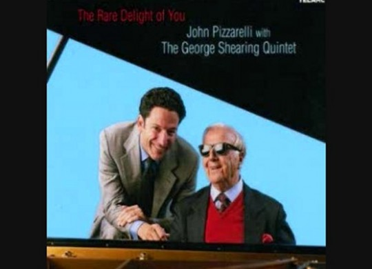 John Pizzarelli and George Shearing Team for SACD
