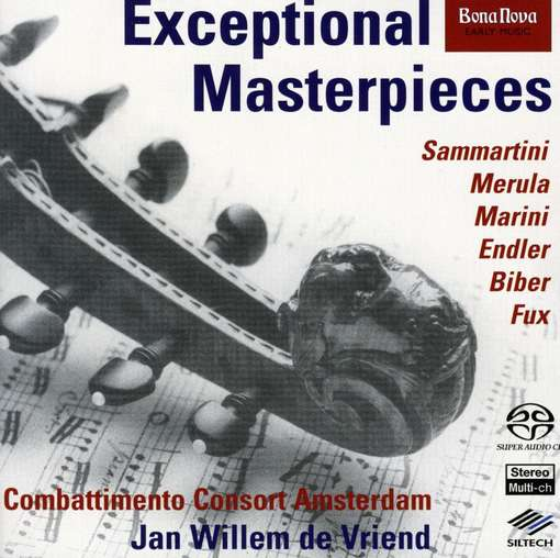Combattimento Consort Amsterdam - Exceptional Masterpieces