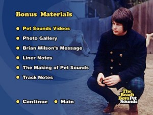 pet sounds bonus materials