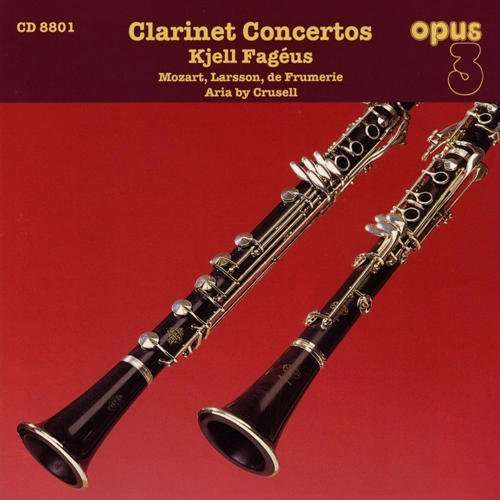 Kjell Fageus - Brahms: Clarinet Trios