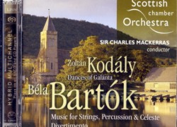 Scottish Chamber Orchestra (Mackerras) – 'Bartok: Music for Strings, Percussion and Celeste'  An SACD review by Mark Jordan