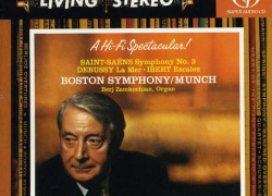 Boston Symphony Orchestra (Munch) – 'Saint-Saens: Symphony No.3 in C minor, Organ'  An SACD review by Mark Jordan