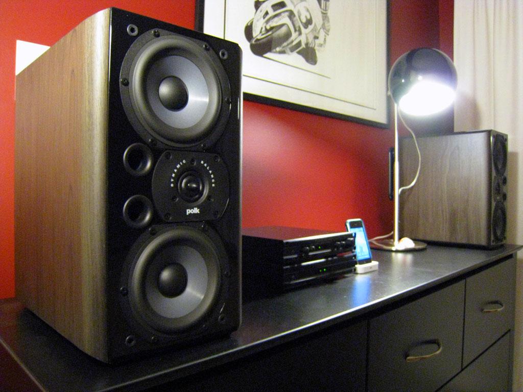 Polk Audio LSi9 Bookshelf Loudspeakers