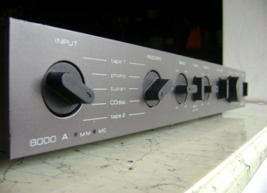 My Old Friend: The Audiolab 8000A (first series) Integrated Amplifier