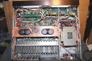 Sony TA-F444ES inside
