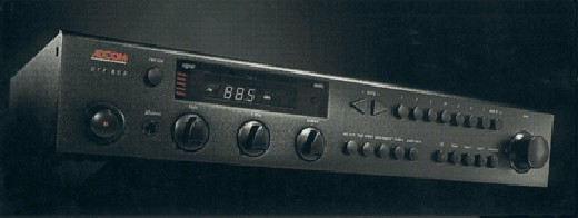 Adcom GPT-450 Preamplifier/Tuner front