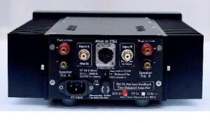 Monarchy Audio SM 70 Pro Amplifier back