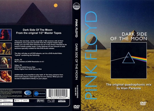 Pink Floyd – 'Dark Side of the Moon' A DVD-Audio review by Nicholas D. Satullo