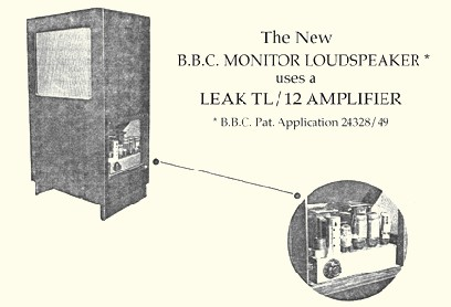 Monitor Loudspeaker