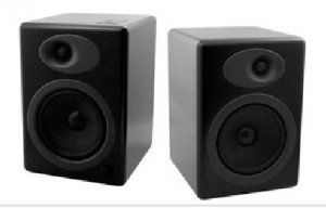 Loudspeakers black