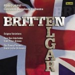 Cincinnati Symphony Orchestra (Jarvi) – 'Britten: Young Person's Guide to the Orchestra, Four Sea Interludes, Elgar: Enigma Variations'  An SACD review by Mark Jordan