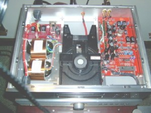 BADA HD-22 CD Player Inside