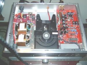 BADA HD-22 CD Player Inside