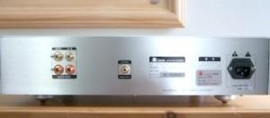 BADA HD-22 CD Player Backside