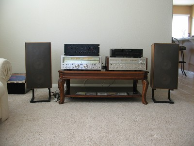 My Pioneer SX-1250, Sansui G-8000, and AU-717 Comparison