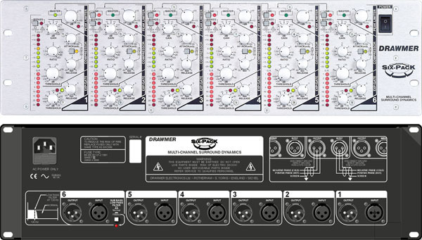 Drawmer Six-Pack Multichannel Compressor / Limiter photo