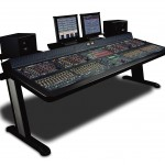 Fairlight DREAM console. Fairlight's new console offers all in one Digital Audio mixing, processing, and routing.