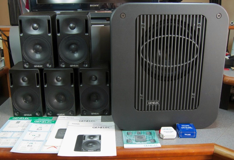 Genelec 1029. LSE PowerPak Surround Monitoring System.