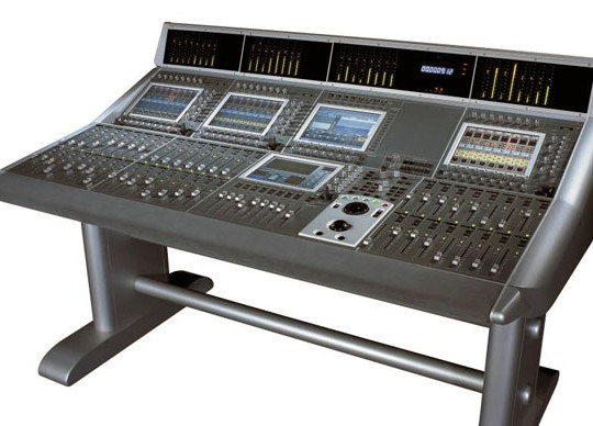 Soundtracs' D4 digital audio console.