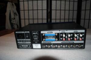 SPL Model 2380 Surround Monitor Controller rear photo