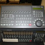 TASCAM MX-2424 recorder/ editor . DVD-A production gets a new tool with the now-96k capable 2424.