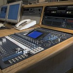 Yamaha DM1000 Digital Production Console. Yamaha provides a small package with big power