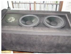 peeled speaker