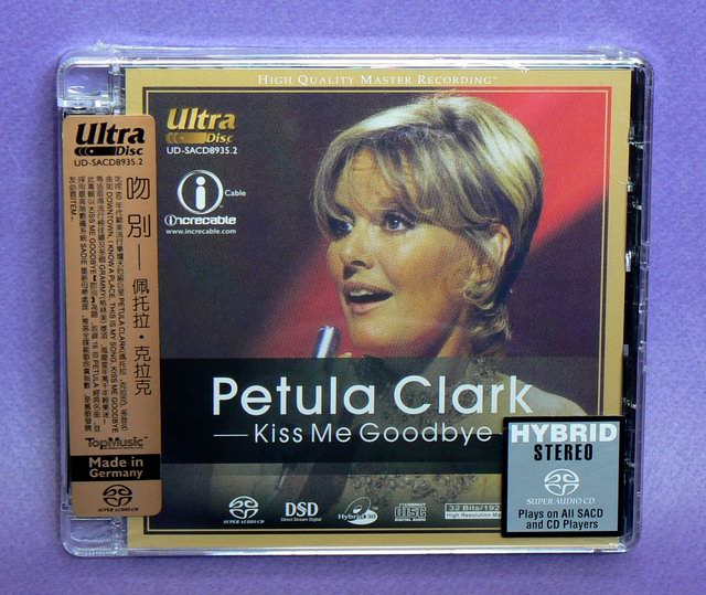 Petula Clarks Kiss Me Goodbye