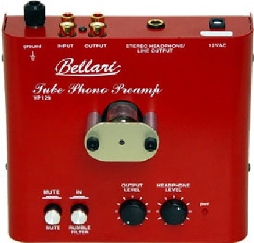 Bellari VP129 Vacuum Tube Phono Stage | Hi-Fi Systems Reviews
