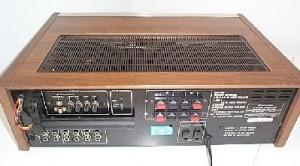 Pioneer SX-780 Receiver backside