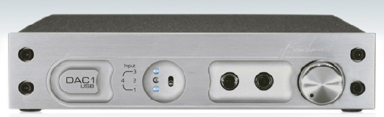 Benchmark DAC1 USB front