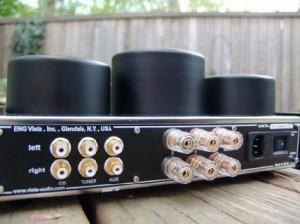 Vista Audio i84 Integrated Amplifier back