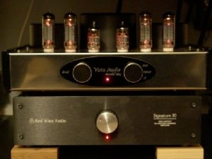 Vista Audio i84 Integrated Amplifier front