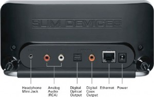 Slim Devices Squeezebox back