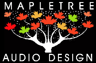 mapletree audio design logo