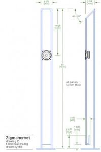 Zigmahornet Speaker Cabinet scheme
