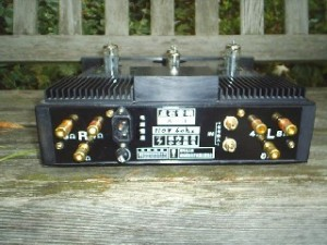 Arena X-3 Integrated SET Tube Amplifier back