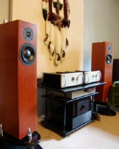amplifiers at room