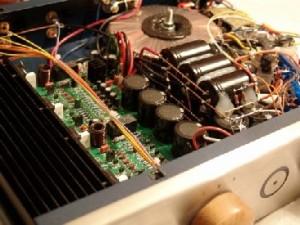 Blue Circle DAR Integrated Amplifier inside