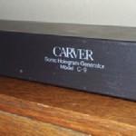 Vintage Corner: Carver C-9 Sonic Hologram Generator