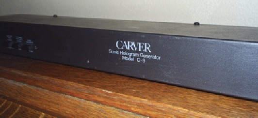 how to hook up a carver amp