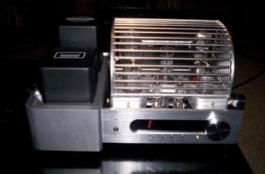 Grant Fidelity A-534B Integrated Tube Amplifier side view