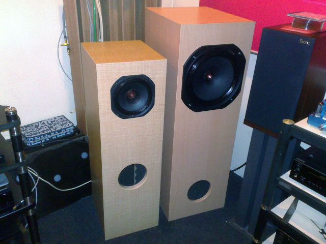 Audio Nirvana Super 12 and Super 8