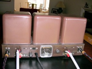 Harman Kardon Citation II Tube Amplifier back