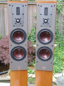 Dali Mentor 5 Tower Loudspeakers front