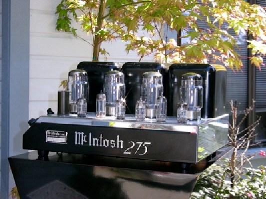 McIntosh MC275 Tube Amplifier review