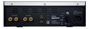 The Aura Note CD/Amp Completer back