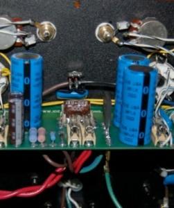 Elite 80+ Amplifier inside