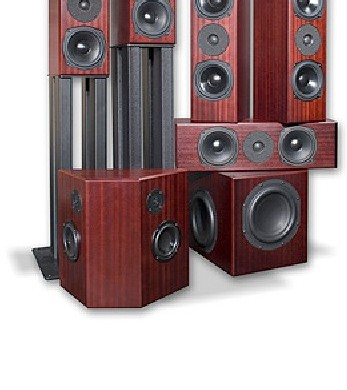 Totem Acoustic Mite 5 1 Home Theater W Storm Subwoofer