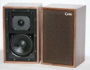 GINI LS3/5A bass